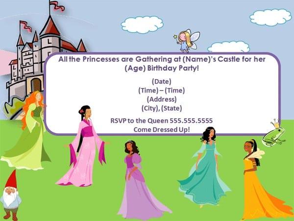 Tea Party Invitation Templates Free 3