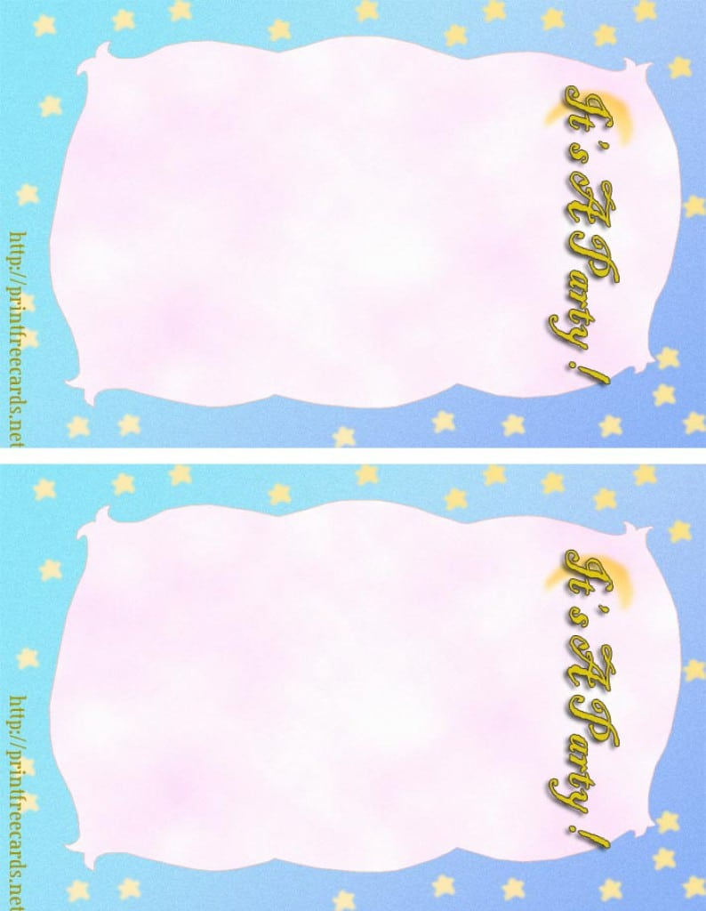Template For 16th Birthday Party Invitations 3