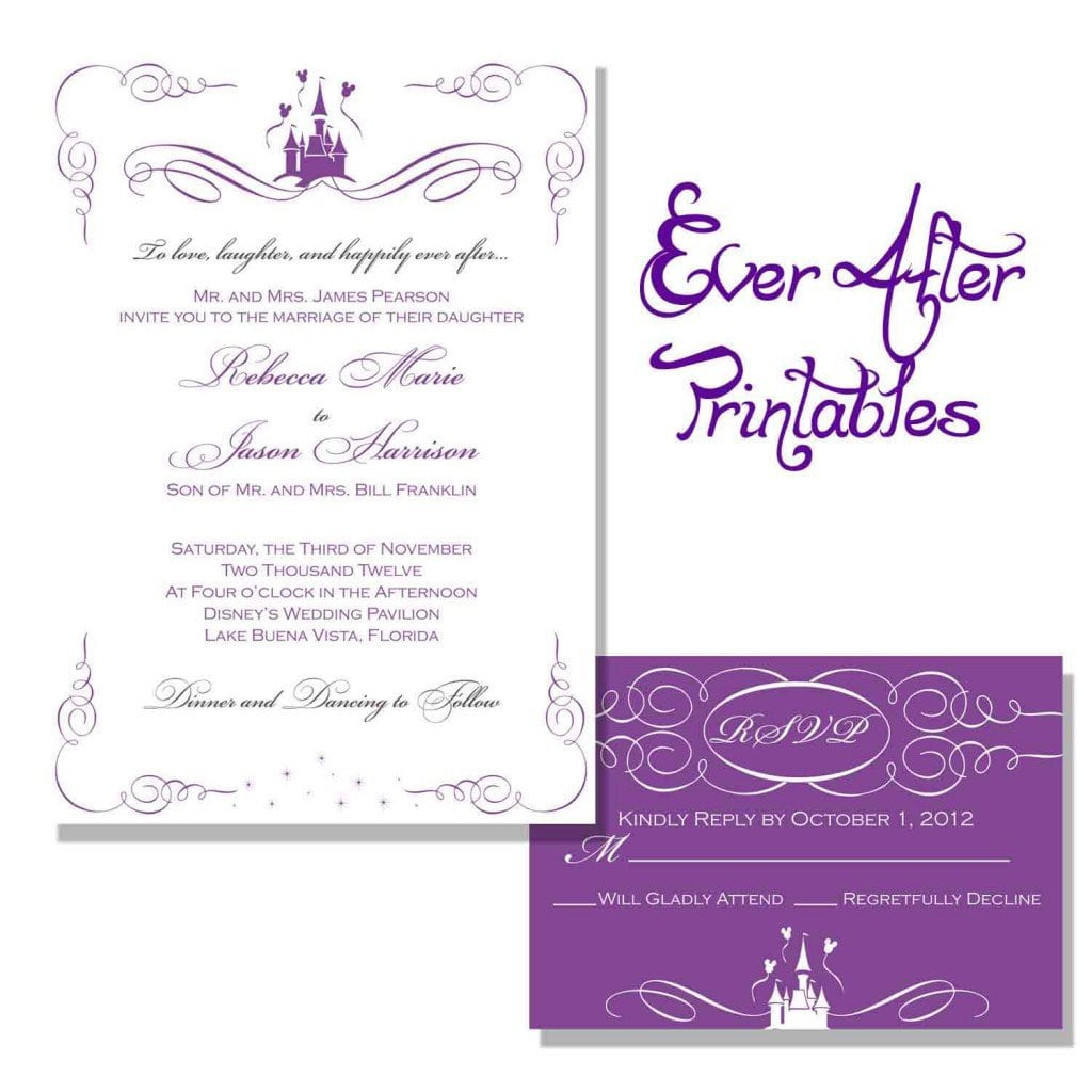 Templates For Wedding Invitations Free To Download 3