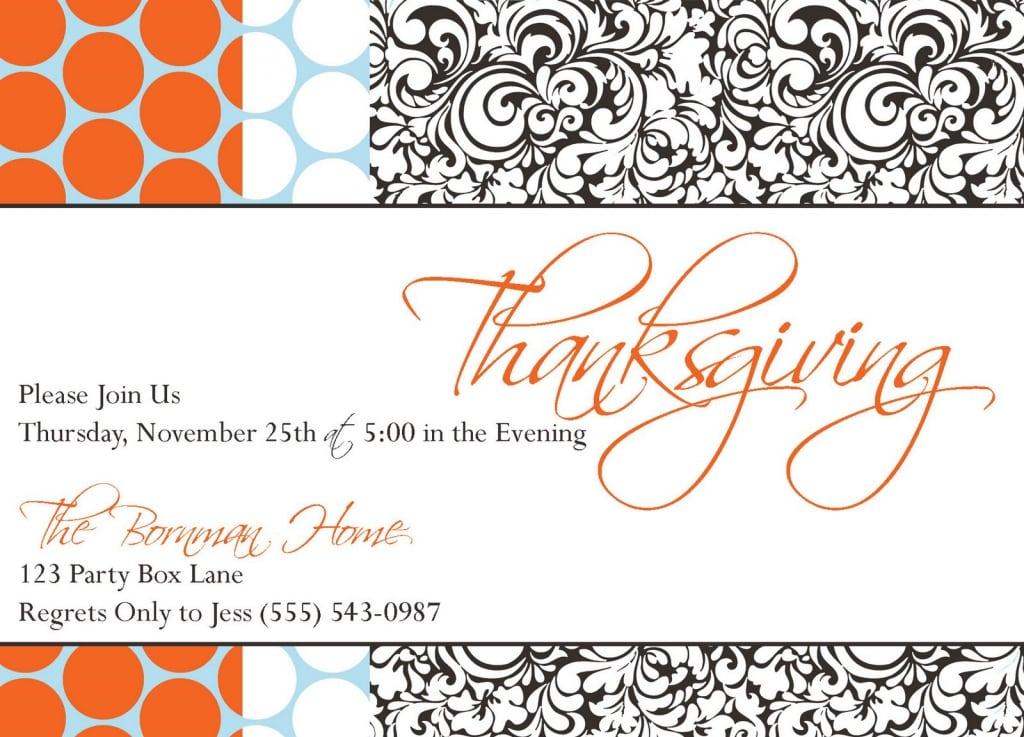 Thanksgiving Invitations Target