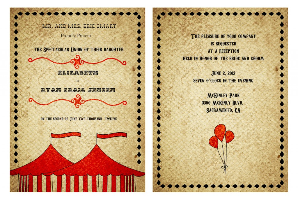 Vintage Invitation Template Free