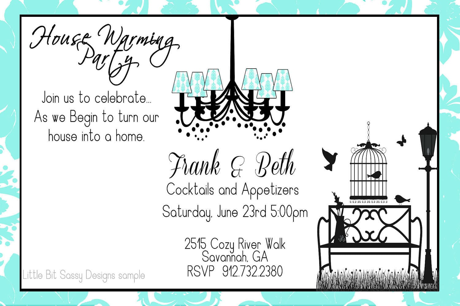 Vintage Housewarming Invitation Templates