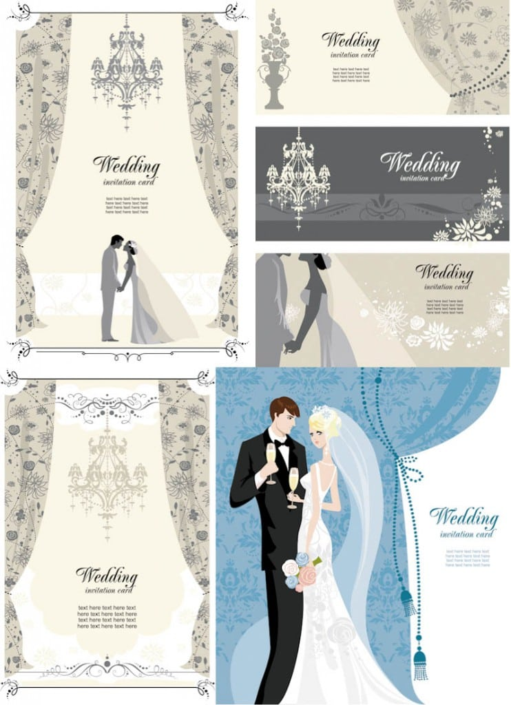 Vintage Wedding Invitation Templates Free 2