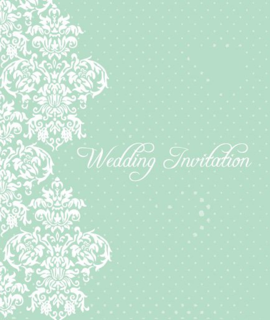 Vintage Wedding Invitation Templates Free 3