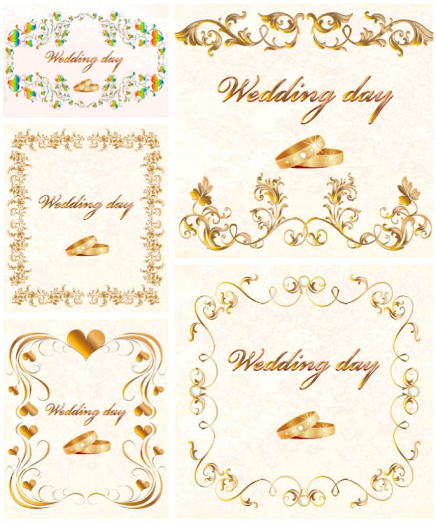 Vintage Wedding Invitation Templates Free 5