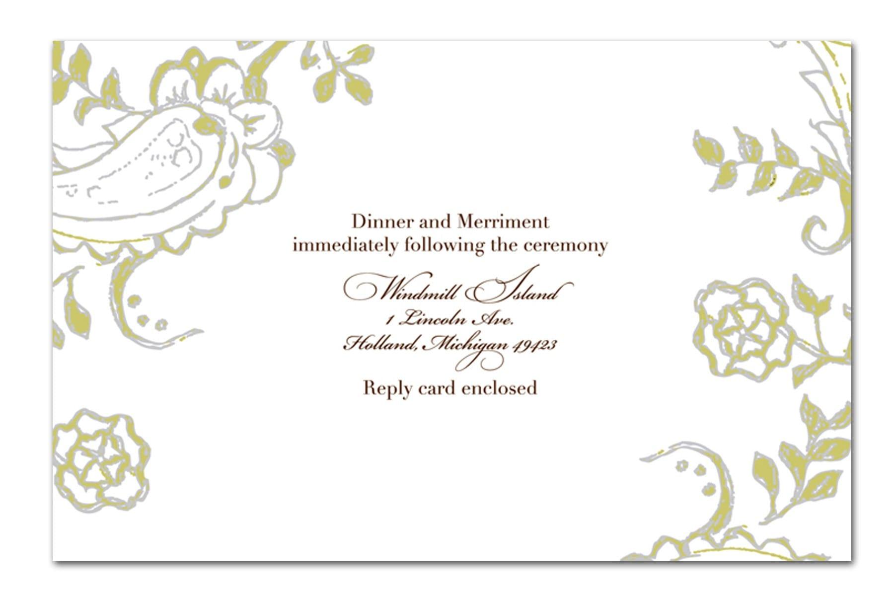 Wedding Hindu Invitations Free Templates 5