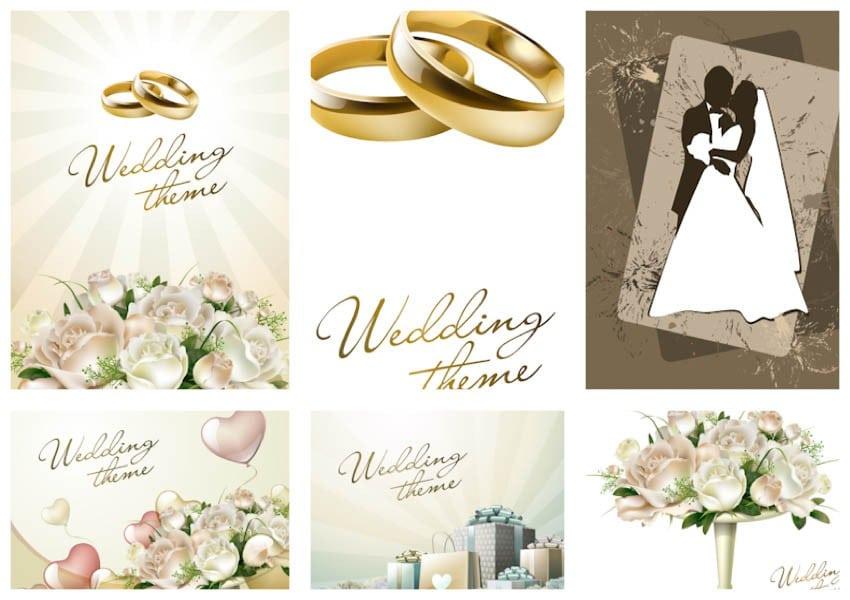 Wedding Invitation Backgrounds 2