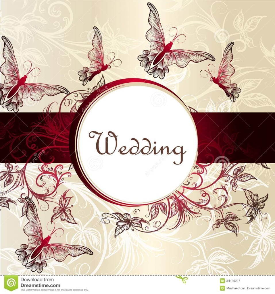 Wedding Invitation Cards Samples Free Download