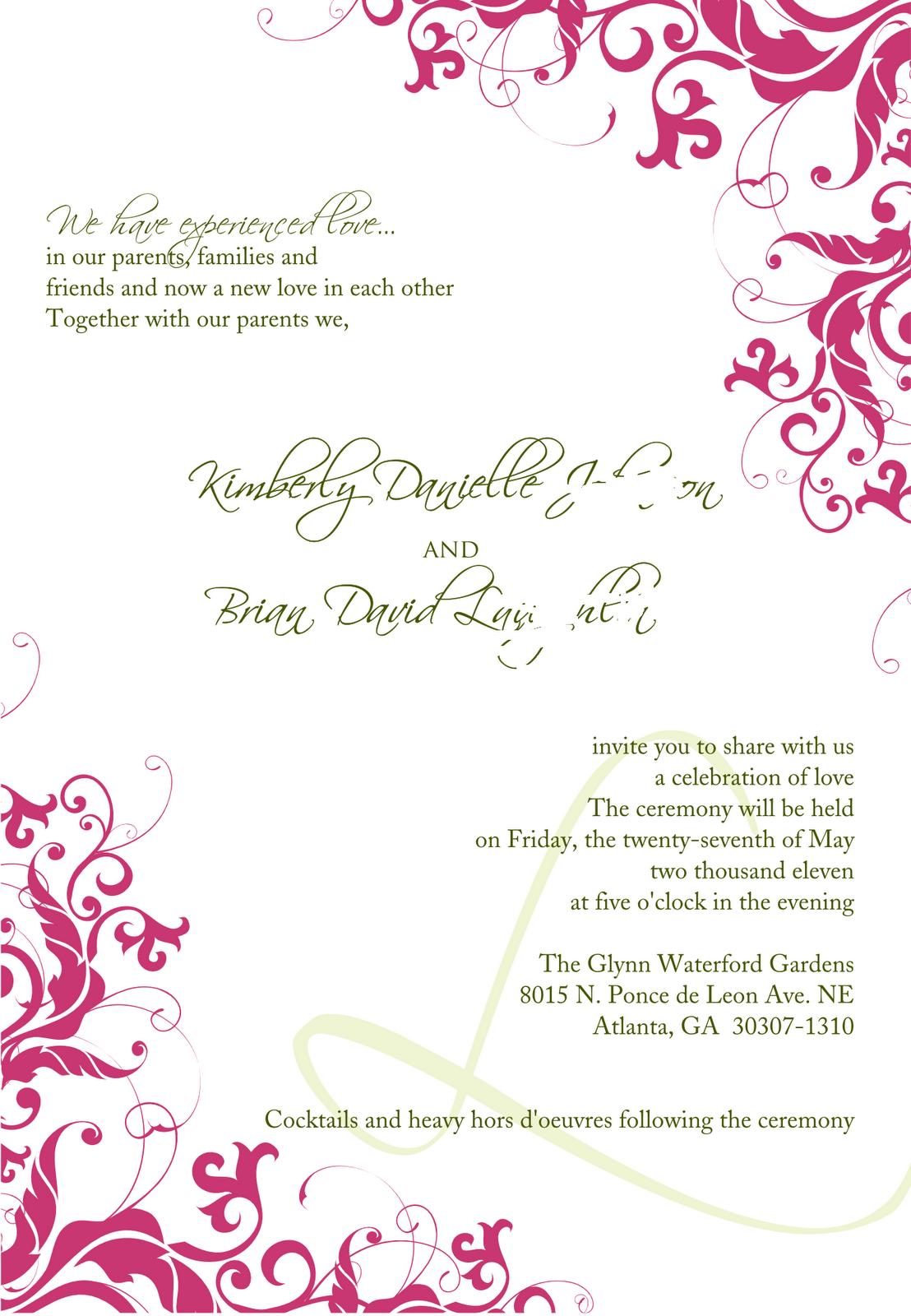 Wedding Invitation Design Png