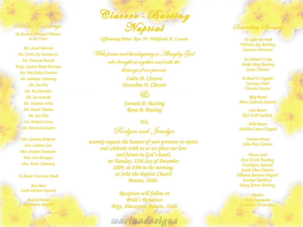 Wedding Invitation Designs Philippines