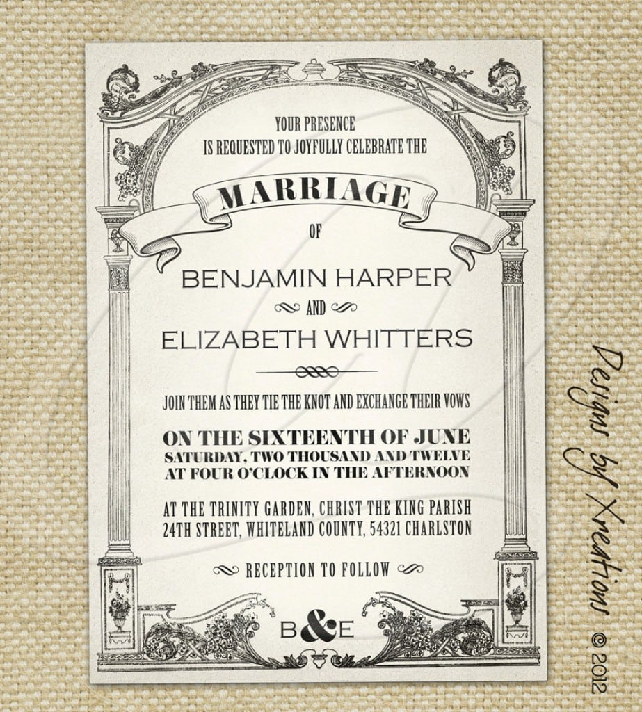Wedding Invitation Free Templates 2