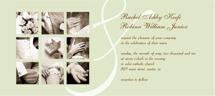 Wedding Invitation Free Templates 5