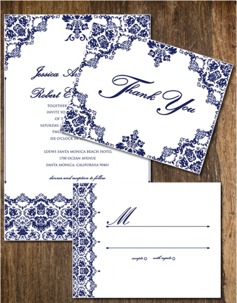 Wedding Invitation Templates Free Downloads 4