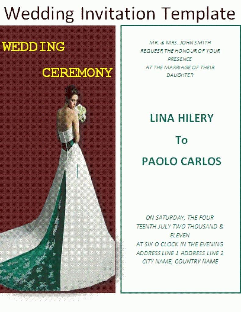 Wedding Invitation Templates Hd 5
