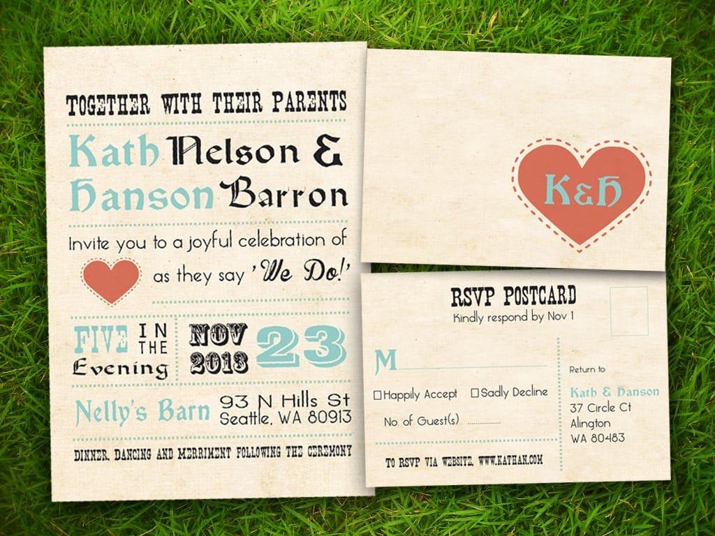 Wedding Invitations Printables Free