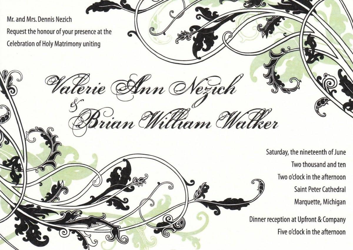 Wedding Invitations Templates Illustrator