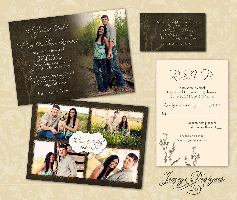 Wedding Invite Templates Psd