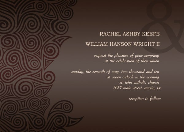Wedding Templates Invitations 3