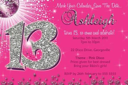 13 Birthday Invitation Ideas For Girls