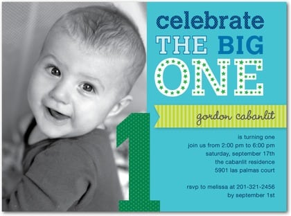 1st Bday Invitations