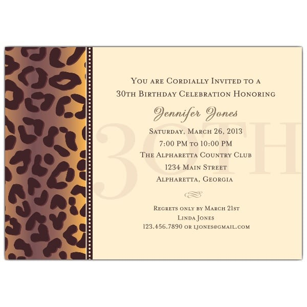 30th Birthday Invitation Text Message First Birthday Invitation – Birthday Invite Messages