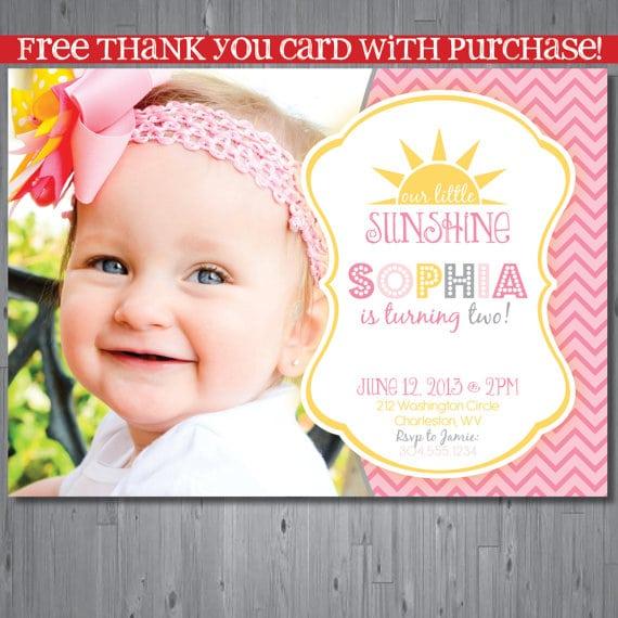 39;s First Birthday Invitations Printable