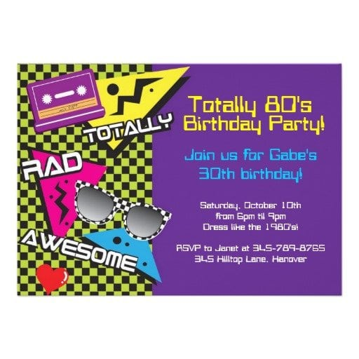 39;s Party Invitations Templates
