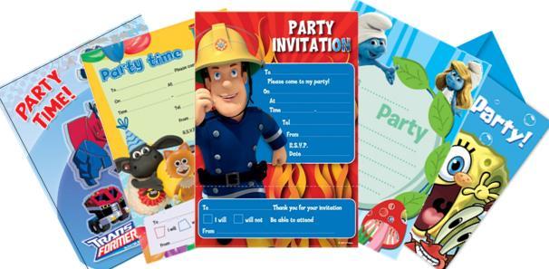39;s Party Invitations Uk