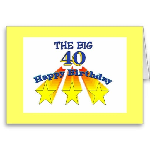 40 Year Old Invites Free Templates