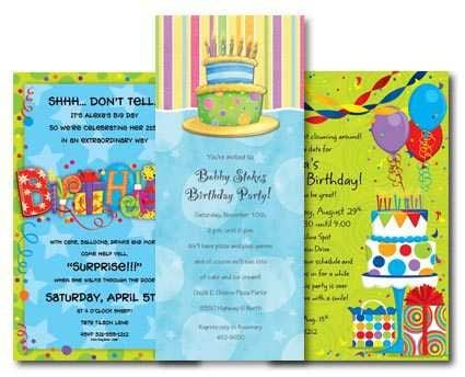 7th Birthday Invitation Wording