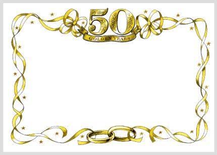 50th invitation templates