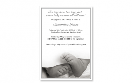 Baby Party Invitations Uk