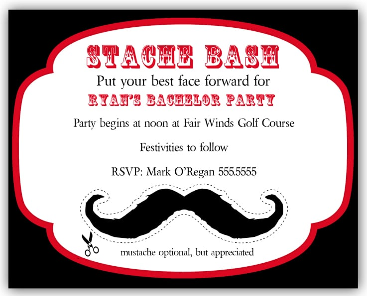 Bachelor Party Invitation Wording Funny