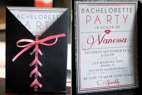 Bachelorette Invitation Ideas Pinterest