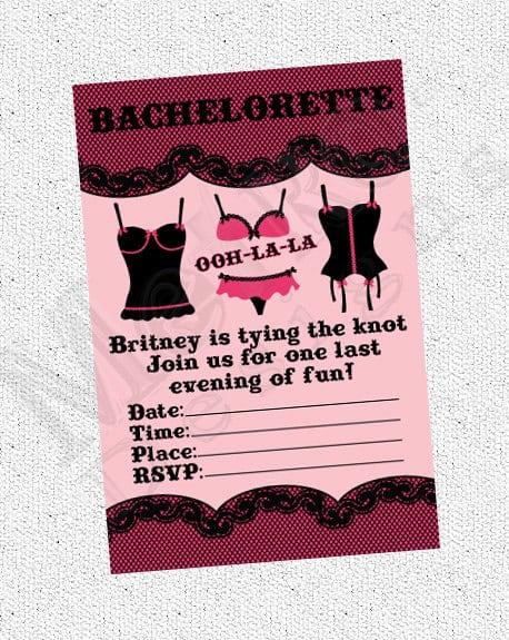 Bachelorette Invitation Printable