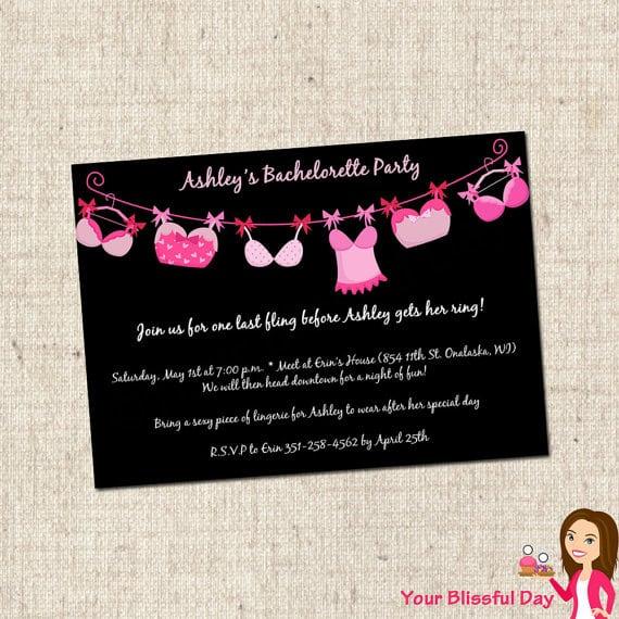 Bachelorette Printable Invitations Free