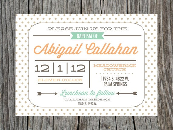 Baptism Invitations Free Printable
