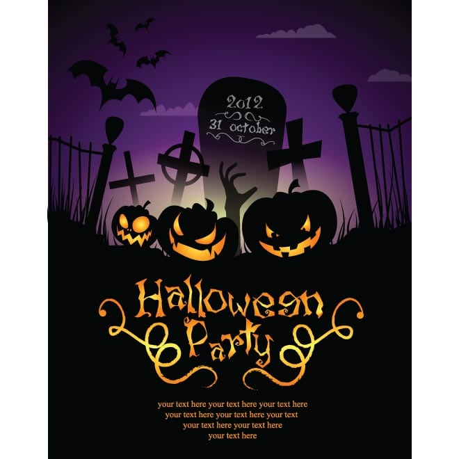 Best Free Halloween Invitation Templates