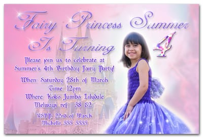 Birth Day Invitation Wordings