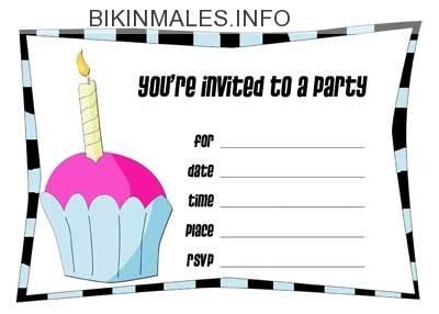 Birthday Girl Invitations Printable Free