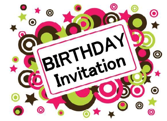 Birthday Invitation Pictures