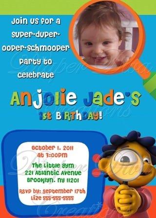 Birthday Invitation Samples For Kids