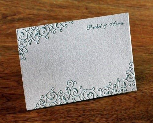 Blank Wedding Invites Cards