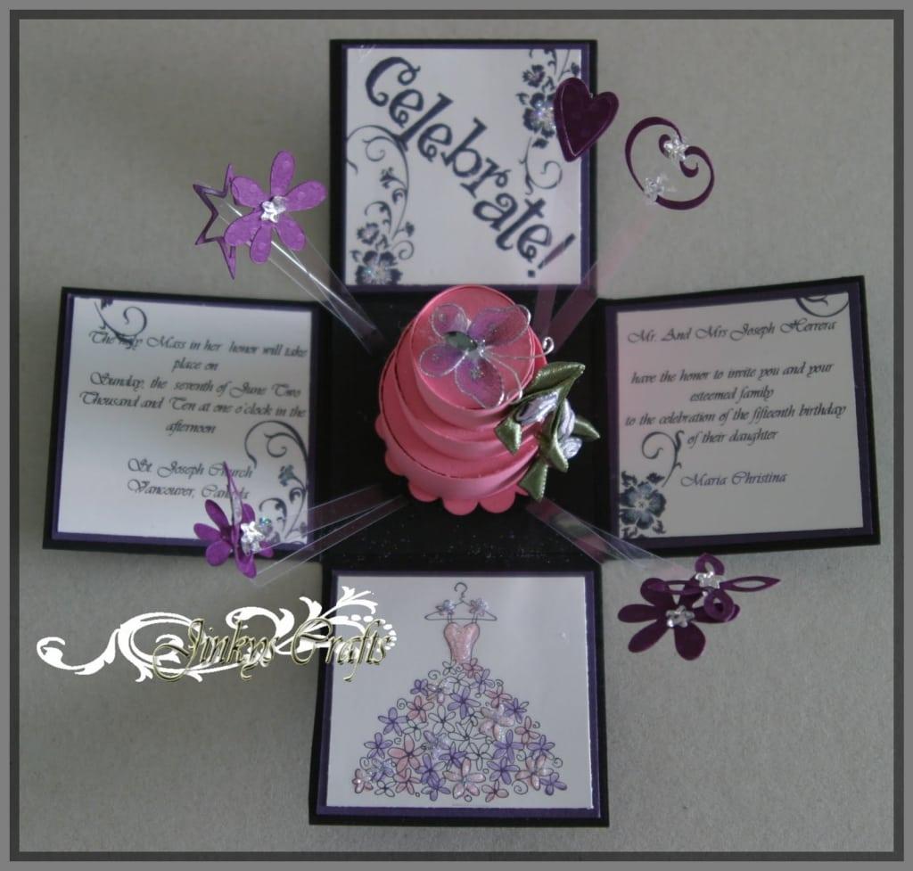 Cheap Quinceanera Invitations 2013