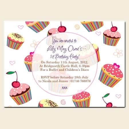 Childrens Birthday Invitations Uk