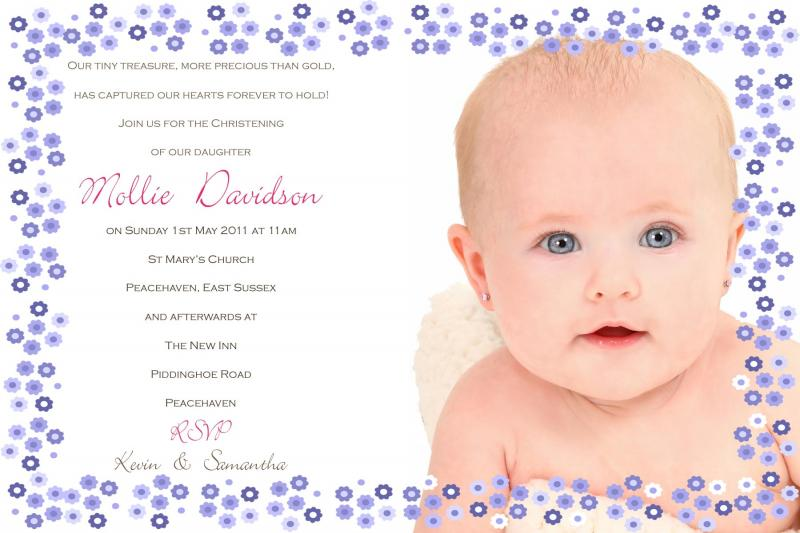 Christening invitation samples stopboris Images