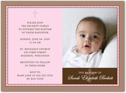 Christening Invitations Free