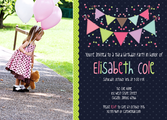 Creating Birthday Invitations In Photoshop