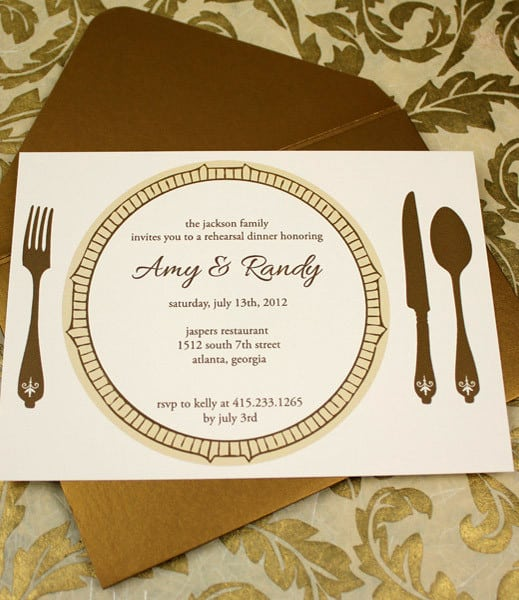 Dinner Invitations Templates Free