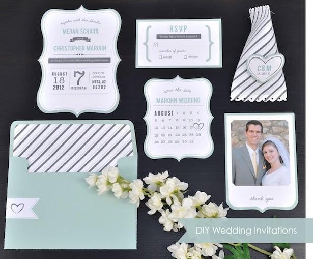 Diy Wedding Invitations Ideas